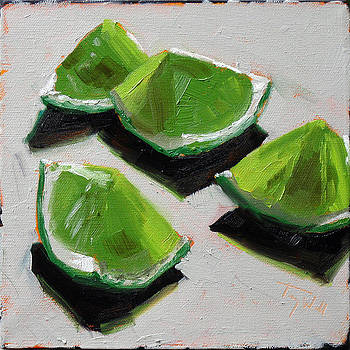 Limes 5 by Tracy Wall