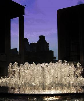 Lincoln Center Fountain by Maria Scarfone