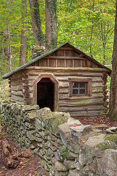 Little Cabin on Little River by Charles Warren