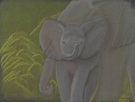 Little Elephant by Vonna Beam