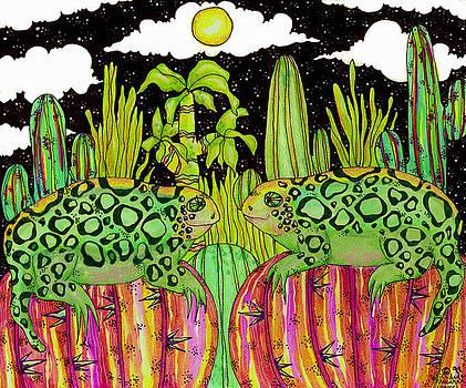 Lizards in Love by Dede Shamel Davalos