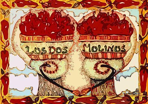 Los Dos Chilies by Dede Shamel Davalos