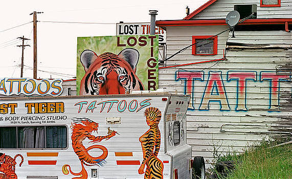 Lost Tiger Tattoo by James Rasmusson