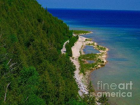 Mackinac Island Coastline by Crissy Sherman