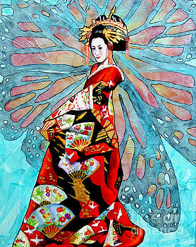 Madame Butterfly by Gail Zavala