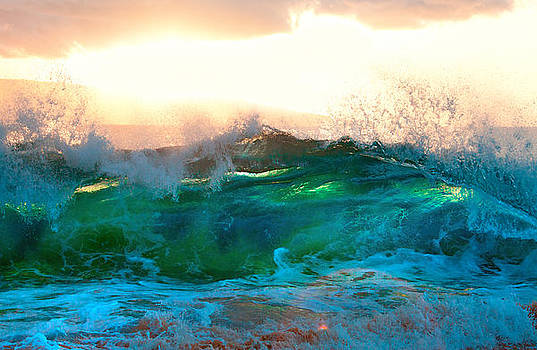 Makena Sunset Wave by Michael Sweet