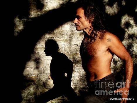 Man And Shadow by Oberon   Ahura Star