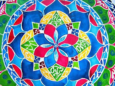 Mandalas circle of life by Sandra Lira