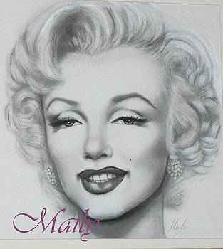 Marilyn Monroe by Maily