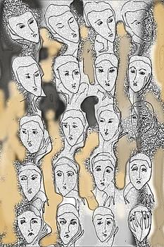 Mask of Love II by Carina Benedek