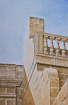Mdina Detail. 181 by Louis Mifsud