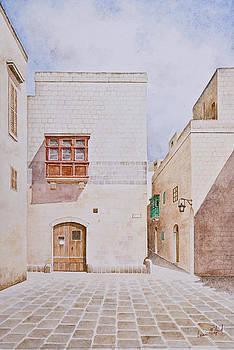 Mdina Street. 147 by Louis Mifsud