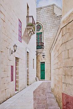Mdina Street. 148 by Louis Mifsud