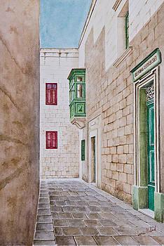 Mdina Street. 152 by Louis Mifsud