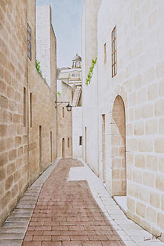 Mdina Street. 174 by Louis Mifsud