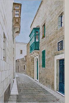 Mdina Street. 97 by Louis Mifsud