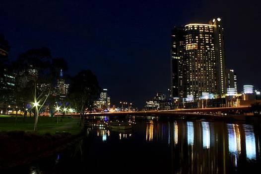 Melbourne Nights by KC Moffatt