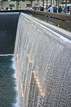 Memorial Waterfall by Andrew Kazmierski