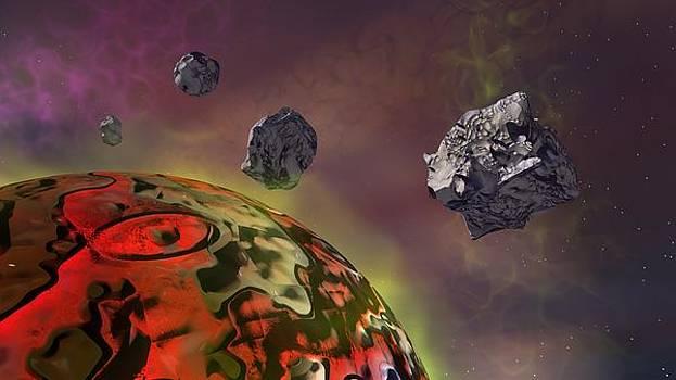 Meteors by Erik Tanghe