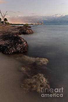 Miami Beach from Key Biscayne by Matt Tilghman