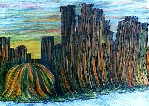 Minne Valley by Richard  Hubal