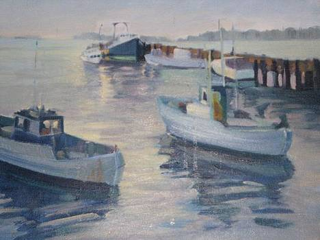 Misty Harbor by D Marie LaMar