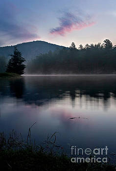 Misty Mountain Sunrise 1 by Matt Tilghman