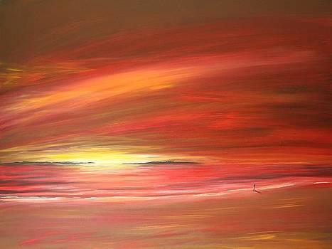 Mitchell Beach Lost by Naomi Walker