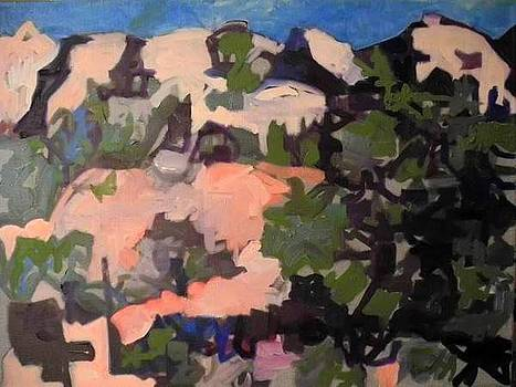 Moab Landscape by Yellow hat Brandt