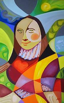 Modern Lisa by Raluca Nedelcu