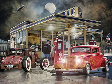Moonlight Cruisers .... by Rat Rod Studios