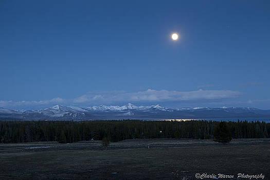 Moonrise at Fishing Bridge by Charles Warren