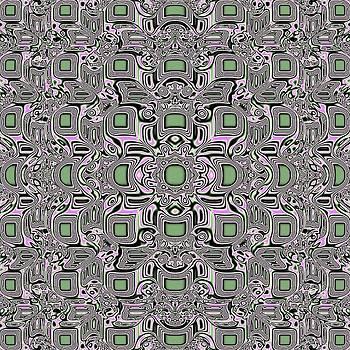 Mosaic Jade Pattern by Deborah Juodaitis
