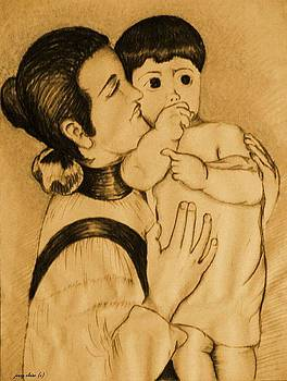 Mother and Child by Jenny Elaine