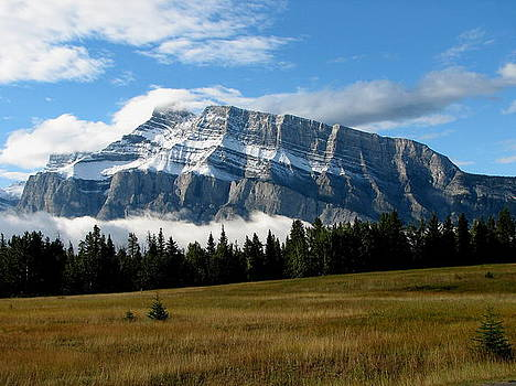 Mount Rundle by Keith Rohmann