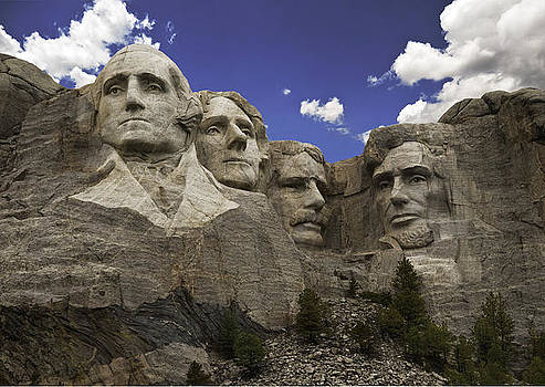 Mount Rushmore  by Paul Plaine