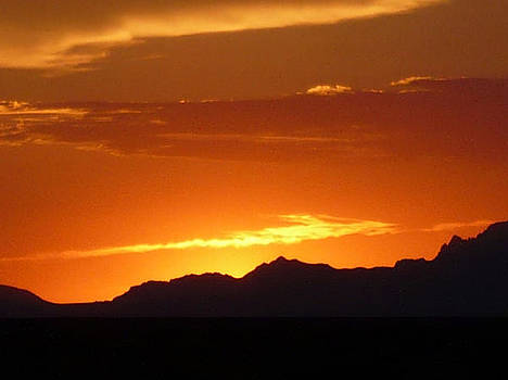 Mountain Sunset by Thomas  MacPherson Jr