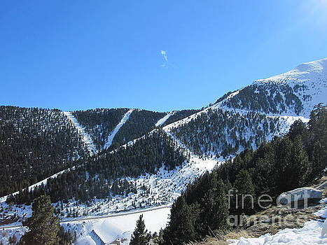 Mountains of Andorra by Paul Jessop