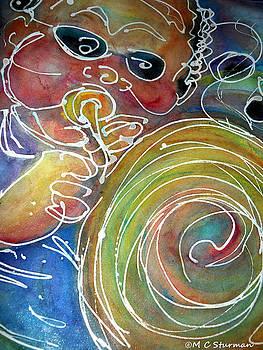 Music Trumpet Musician by M C Sturman