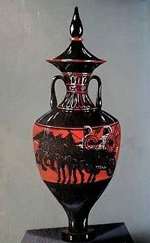 Mythos Urn by Dee Presser
