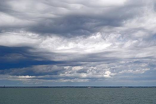 Nantucket Sound Sky by Paul Donovan