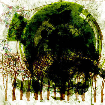 Nature destruction by Helena Marais