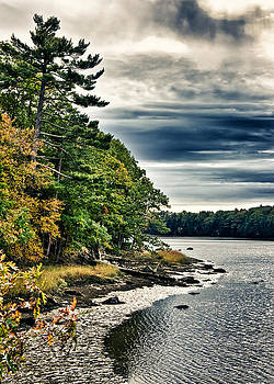 New Hampshire Waterway 2 by Edward Myers