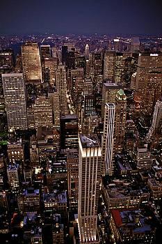 New York By Night by Peter Verdnik