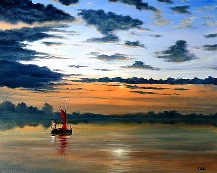 Norfolk Dawn by Alan Lewis