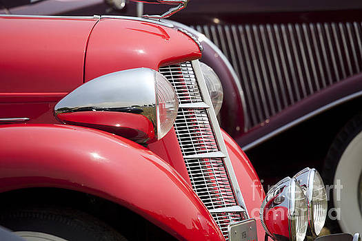 Nose of classiccar by Tad Kanazaki