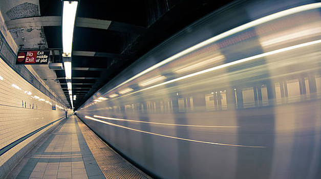 NYC Subway by Peter Verdnik