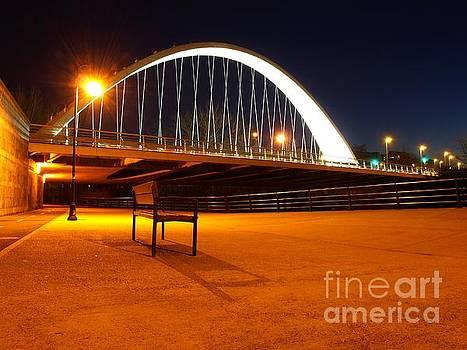 Oblatas Bridge by Alfredo Rodriguez