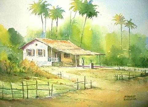Off to Work by Sandeep Khedkar