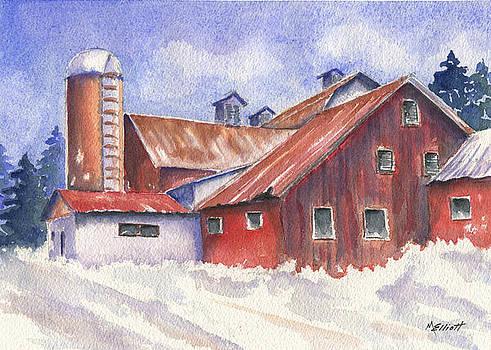 Ohio Barn by Marsha Elliott